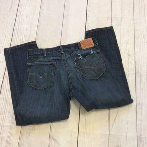 Levis 505 Jeans Size 38x30 Actual Size 36 x 28